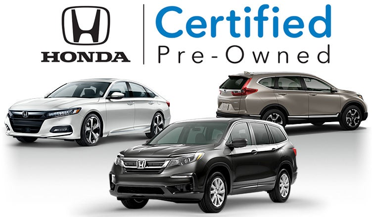 Certified Pre Owned Honda >> Certified Pre Owned Honda Used Hondas In West Chester Pa